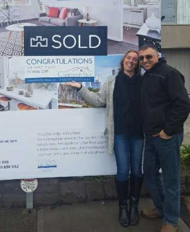 Danny and Julie - happy Chamberlain Property Advocate clients