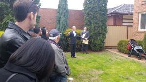 Auction in Melbourne