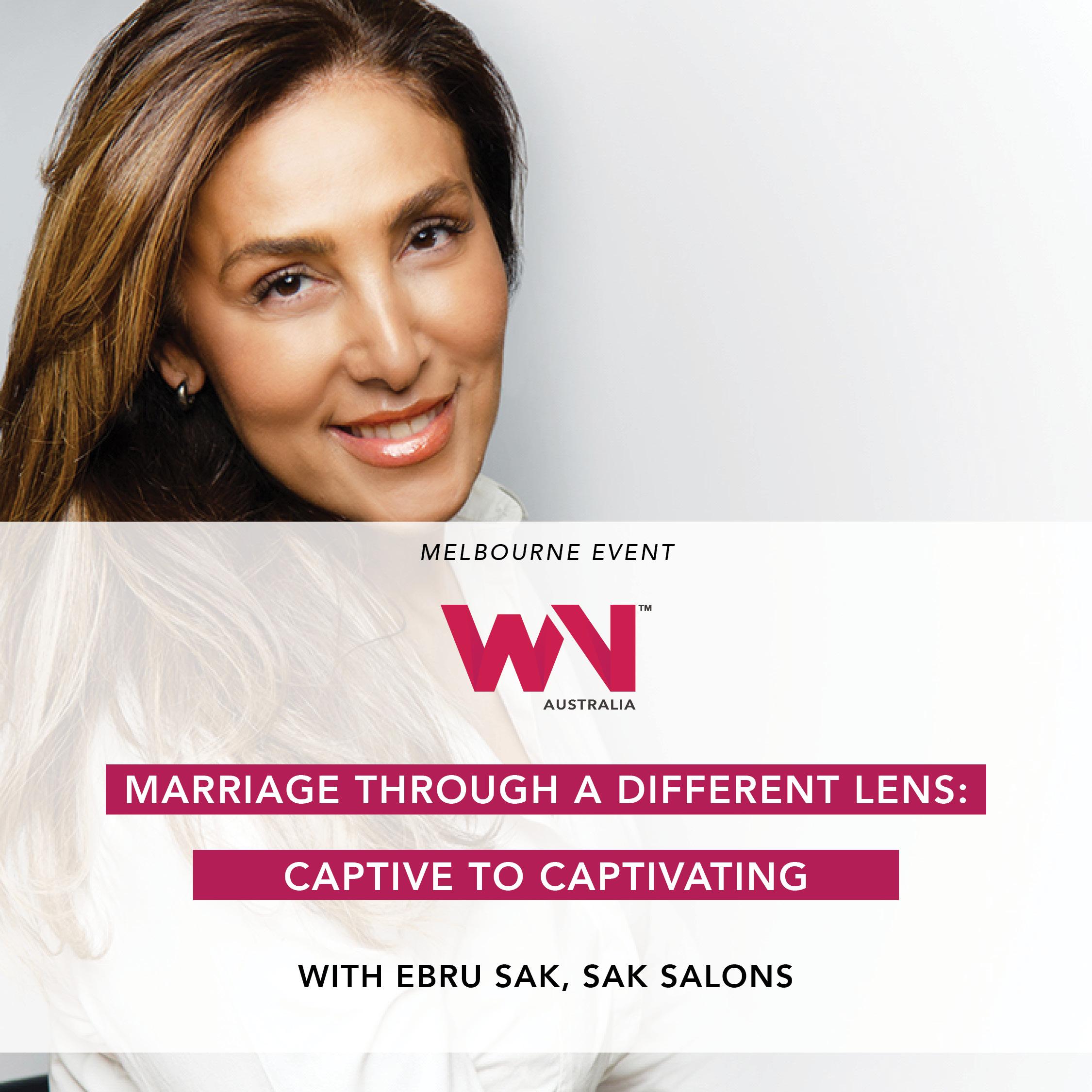 Ebru Sak speaks at the Women's Network Australia February 2019 event