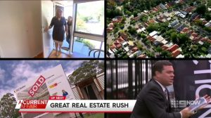 Wendy Chamberlain, Buyers Advocate and founder of Chamberlain Property Advocates features on A Current Affair program about Australia's booming real estate market