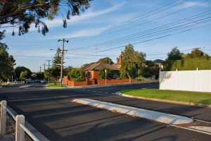 The inner Melbourne suburb of Brunswick West
