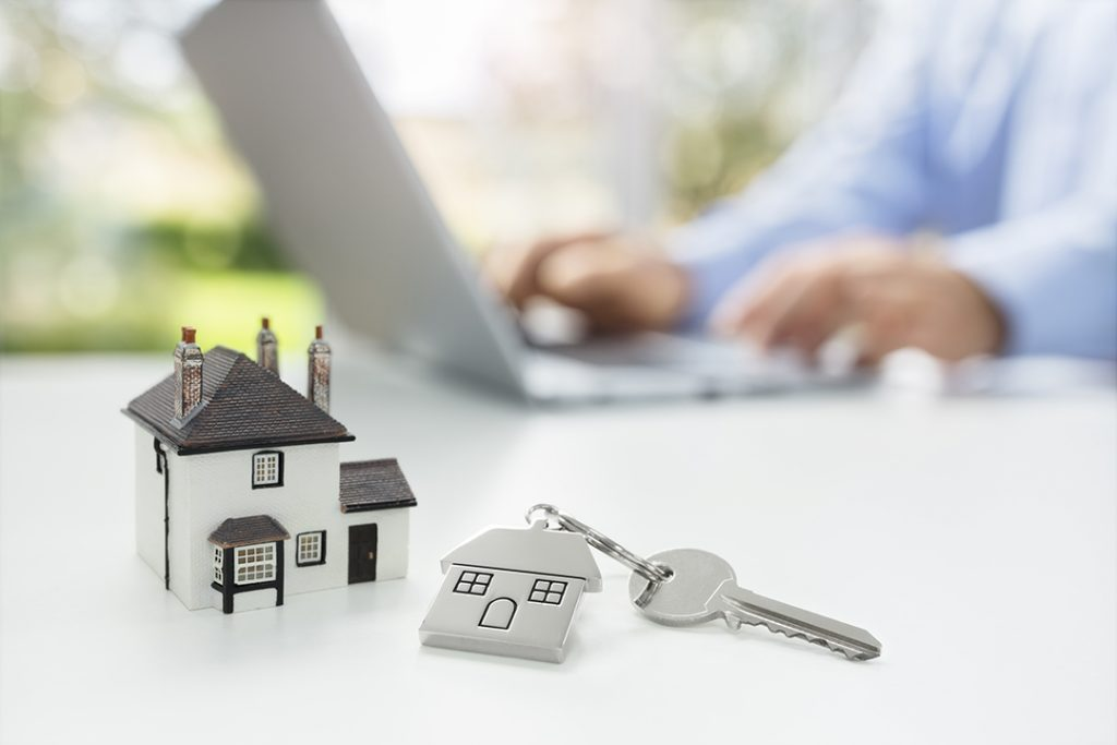 Searching for real estate online