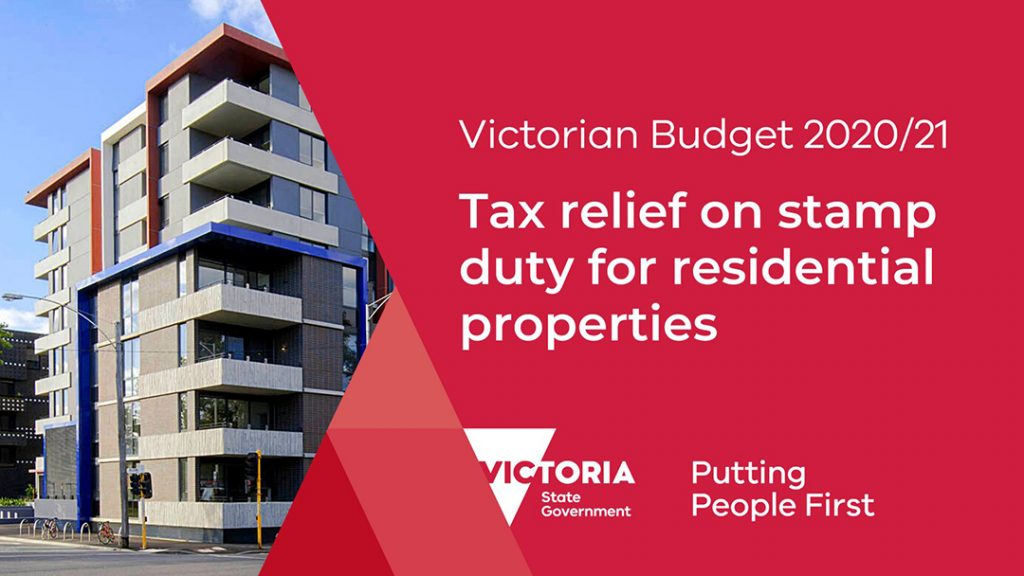 Stamp duty waiver Victoria